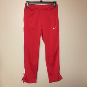 Nike Men's athletic sweatpants side zip small